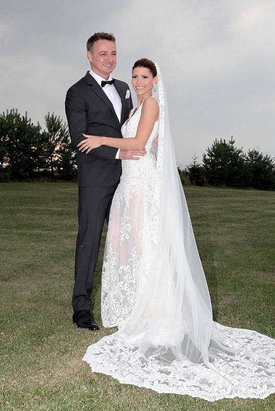 Tereza Kerndlová a René Mayer podruhé ve svatebním.