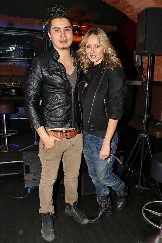 Marina Gavriely s přítelem Marcusem.