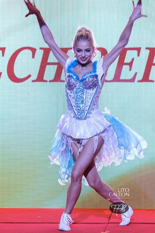 Kráska z Ostravy zabodovala tancem v talentové soutěži.