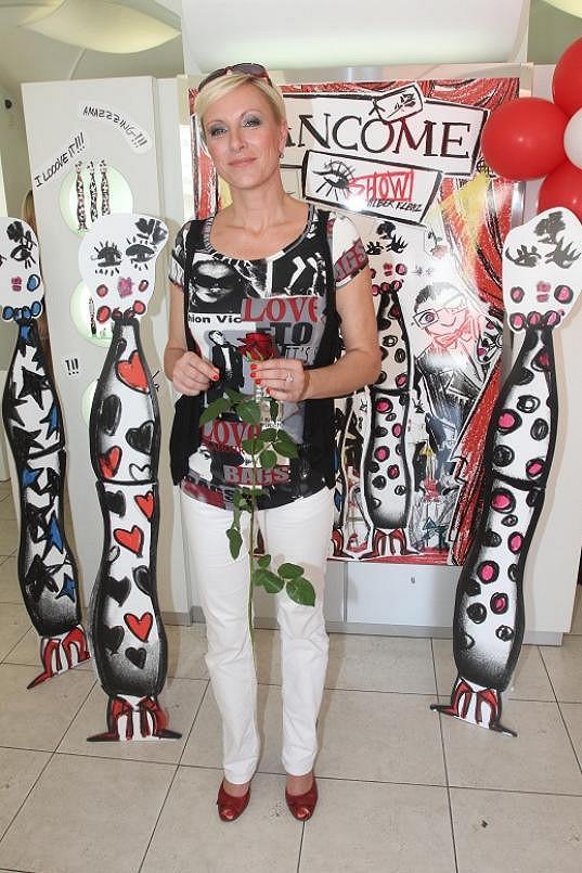 Renata Drössler vypadá na padesátnici velmi dobře.