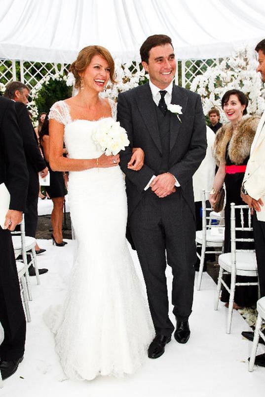 Gabriela si před deseti lety vzala Brita Davida Peacocka.