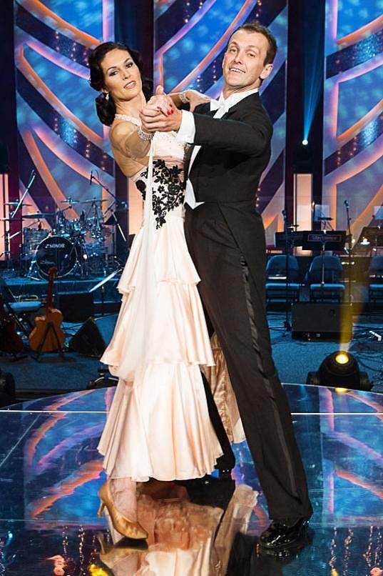 Šárka Kašpárková tančila ve StarDance s Janem Tománkem.