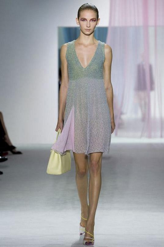 V modelu Christian Dior