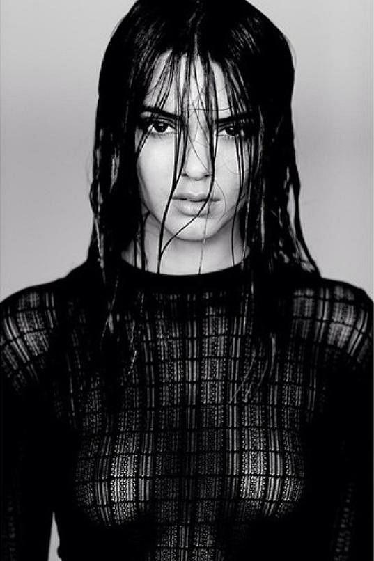 O tuto fotografii se podělila Kendall Jenner na internetu.