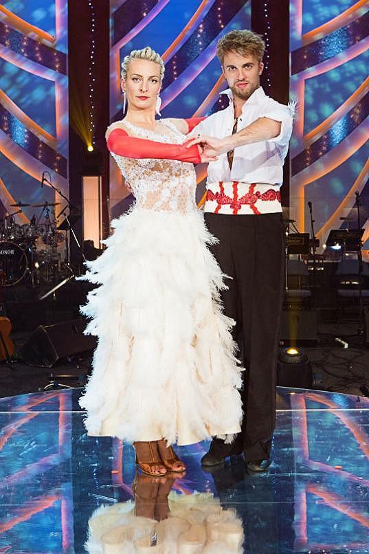 Michal Kurtiš pokaždé vymyslí nápaditou choreografii.