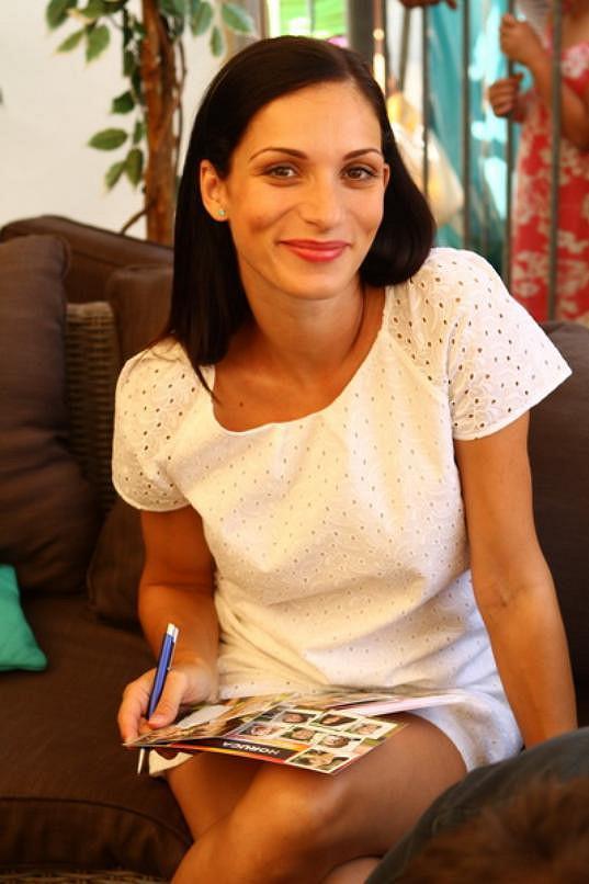 Zuzana Kanócz čeká druhé dítě.