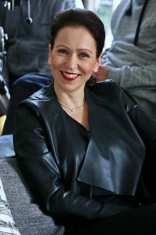 Zuzana Stivínová ještě s úsměvem na rtech