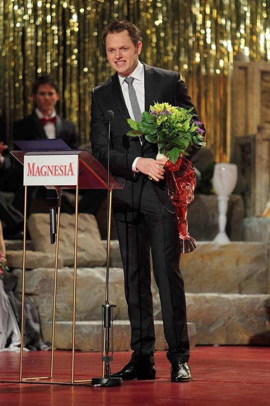 Jan Kříž byl oceněn za Pomádu.