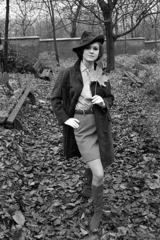 Pavlína Filipovská na snímku z mládí