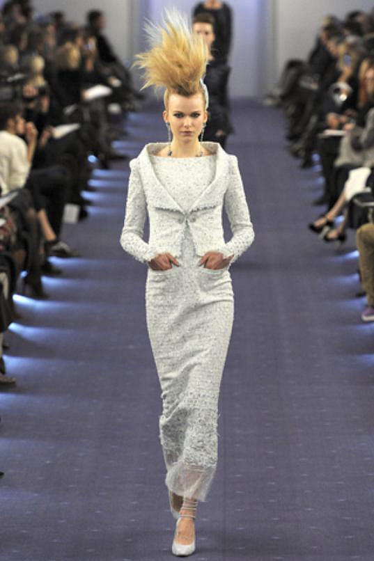 Pro Chanel předváděla i Karolína Mrozková.