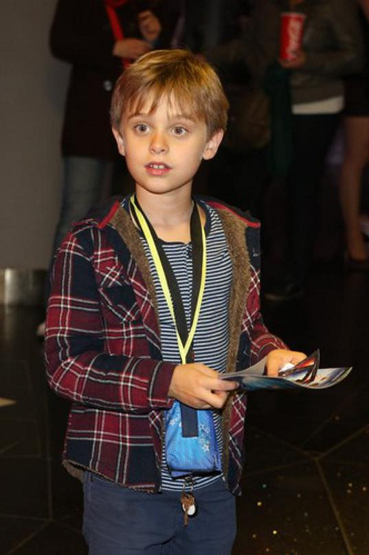 Hercův osmiletý syn Jenda je vážně roztomilý.