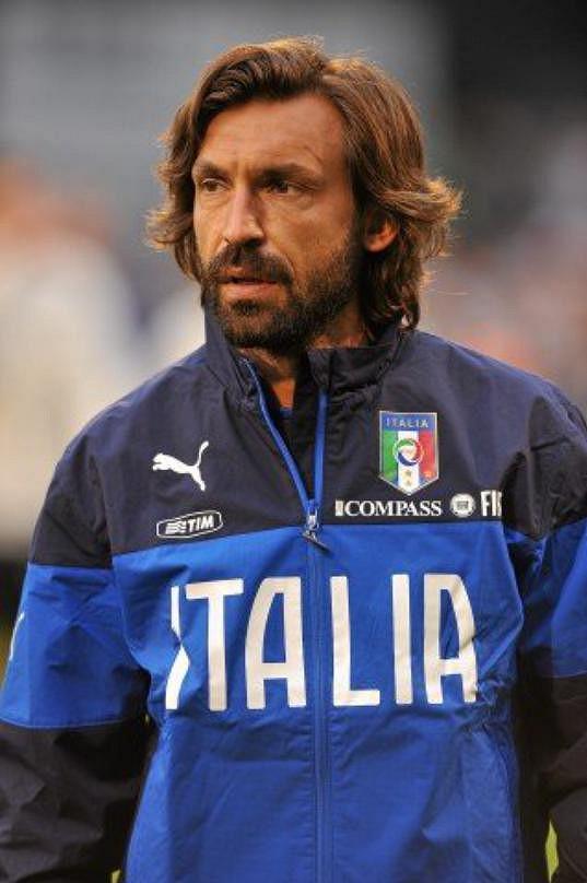 V žebříčku potenciálních nápadníků je i fotbalista Andrea Pirlo.