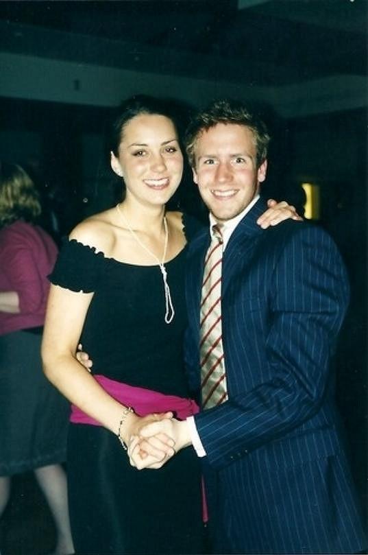 Vévodkyně z Cambridge s kamarádem Mickeym Lawsonem