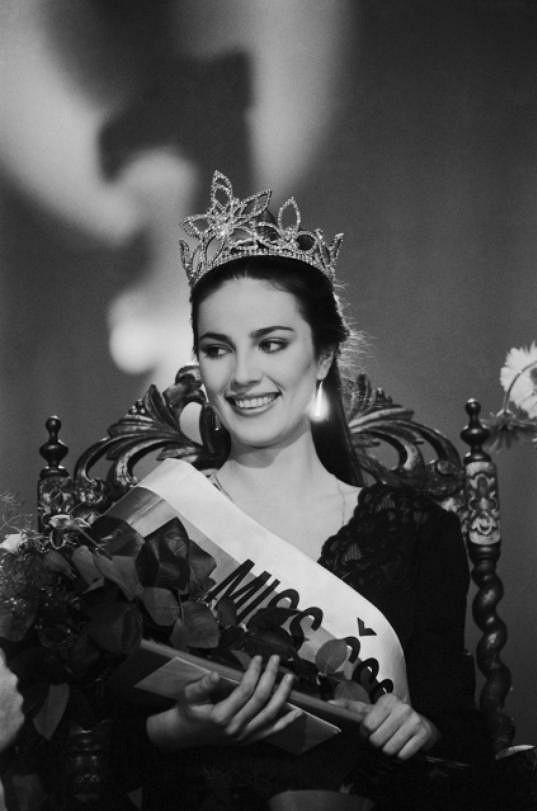 První Miss se stala Ivana Christová.