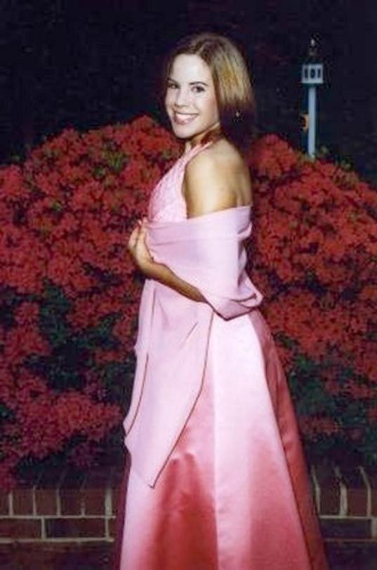 Whitney Thore v době, kdy vážila 68 kilogramů.
