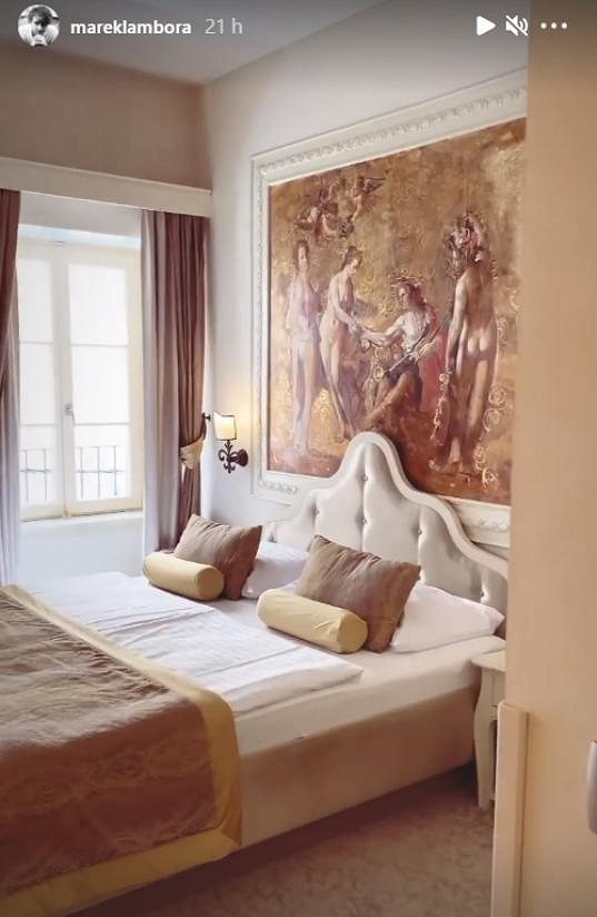 Takovou barokní romantiku mají v hotelu ve městě Šibenik.