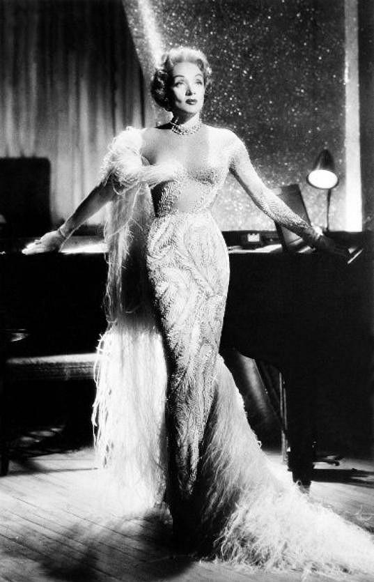 Marlene Dietrich, kterou si Patrik vylosoval.