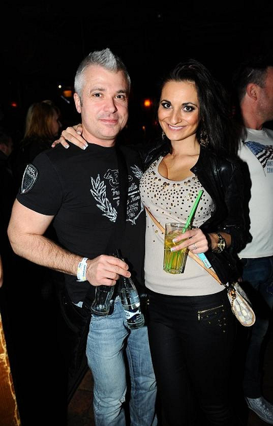 Zapařit do Silver Rocku zašel i exmanžel Petry Minářové Šimon Leitner se snoubenkou Lenkou Olbertovou.