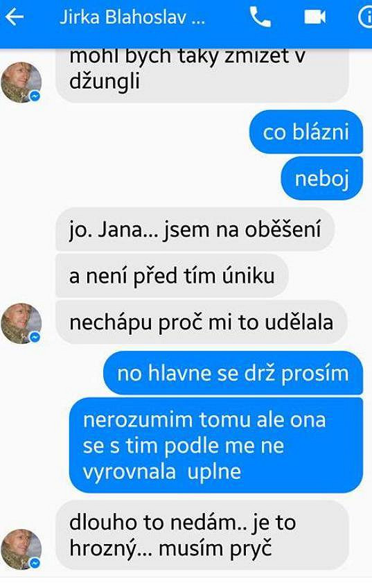 Jiří Bláha oběšení plánoval.