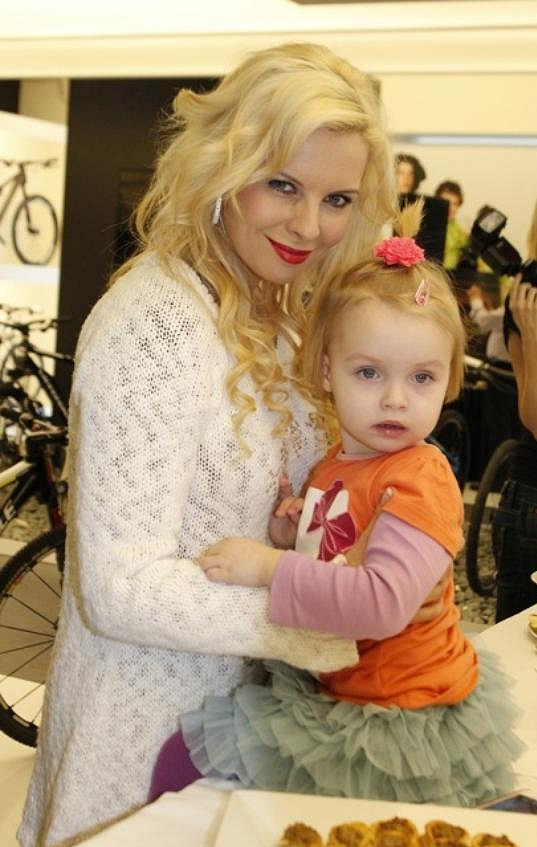 Kateřina Kristelová s dcerou Claudií