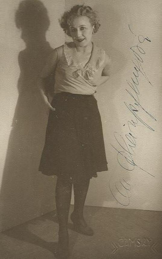 Olga ve třicátých letech.