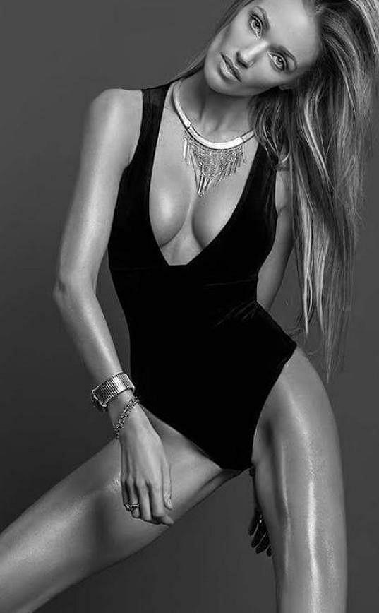 Kateřina Šonková. Není až moc hubená?