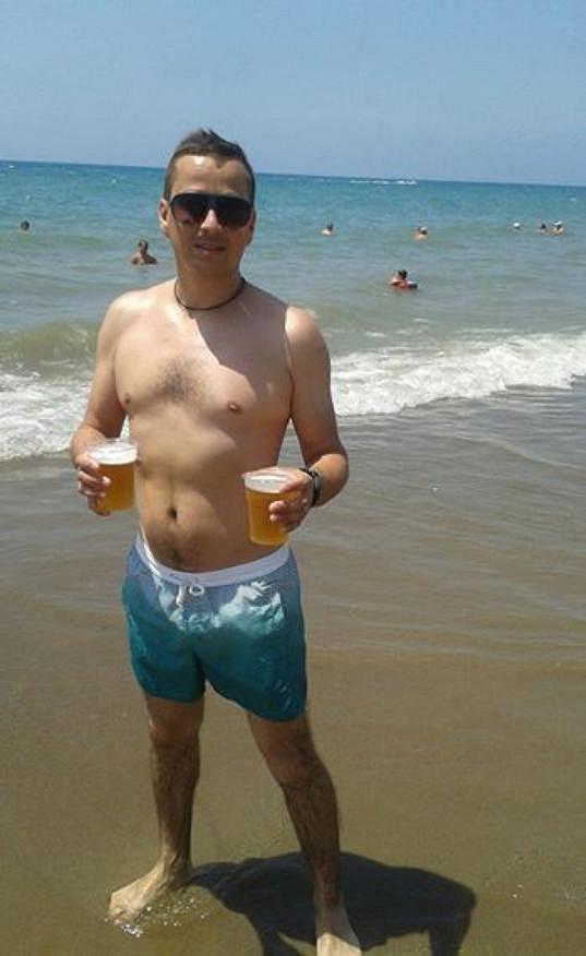 Petr si sice pivo rád dá...