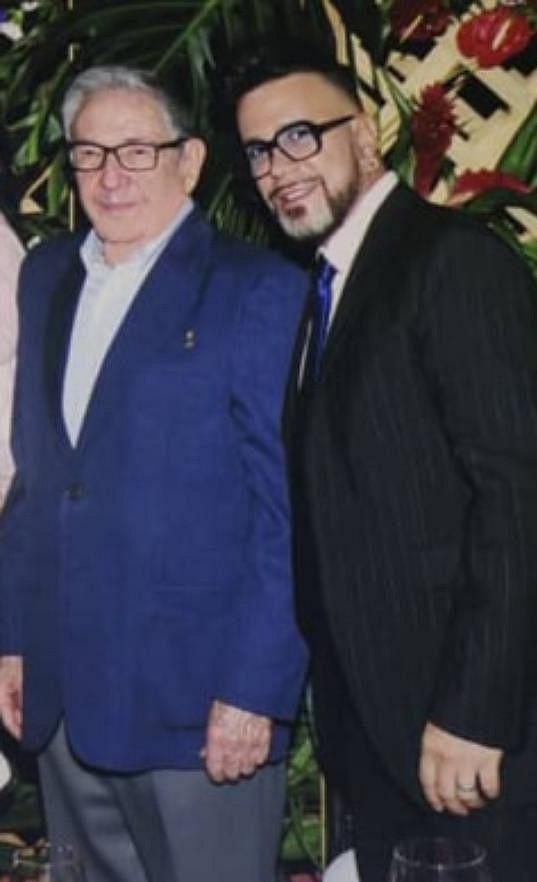 Osmany se nedávno s Raúlem Castrem potkal.