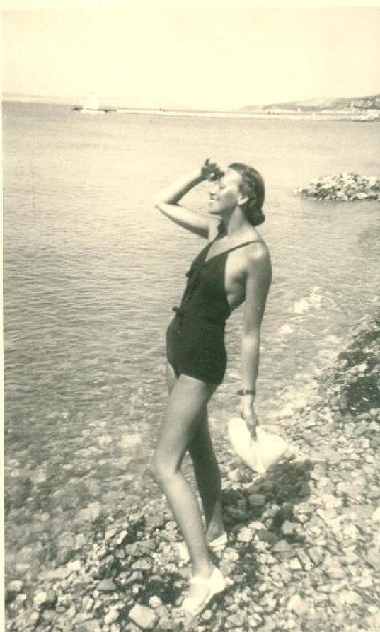 Superštíhlá postava předurčila Jiřinu Sedláčkovou nejdříve pro dráhu modelky.