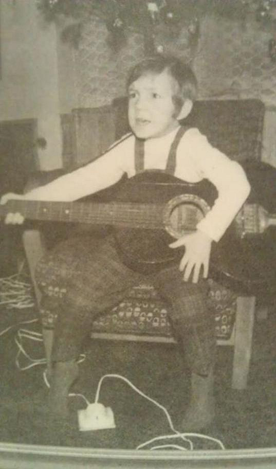 Richard byl už od dětství bavičem.