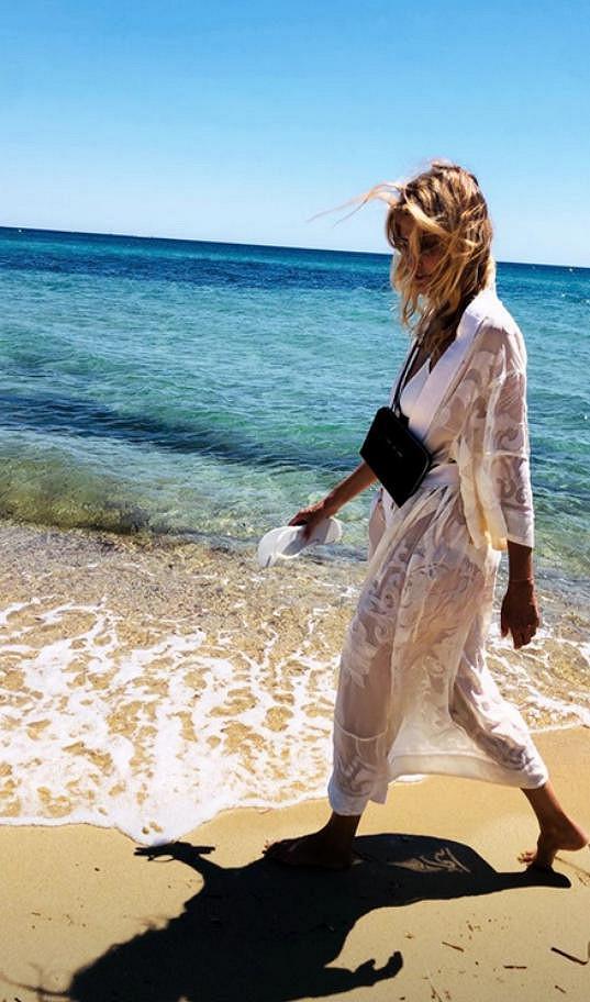 Tereza si užívá ve Francii krásné počasí a moře.