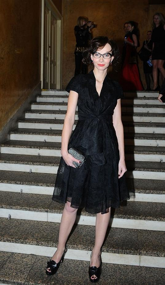 Jana Plodková měla na galavečeru Českého lva model od Diora.