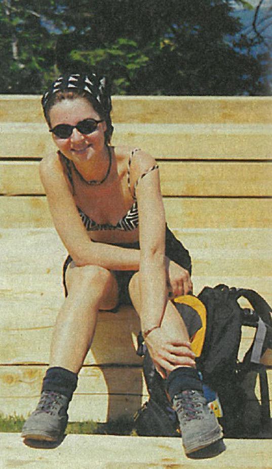 V rodinném archivu měla i tuhle 20 let starou fotografii z dovolené.