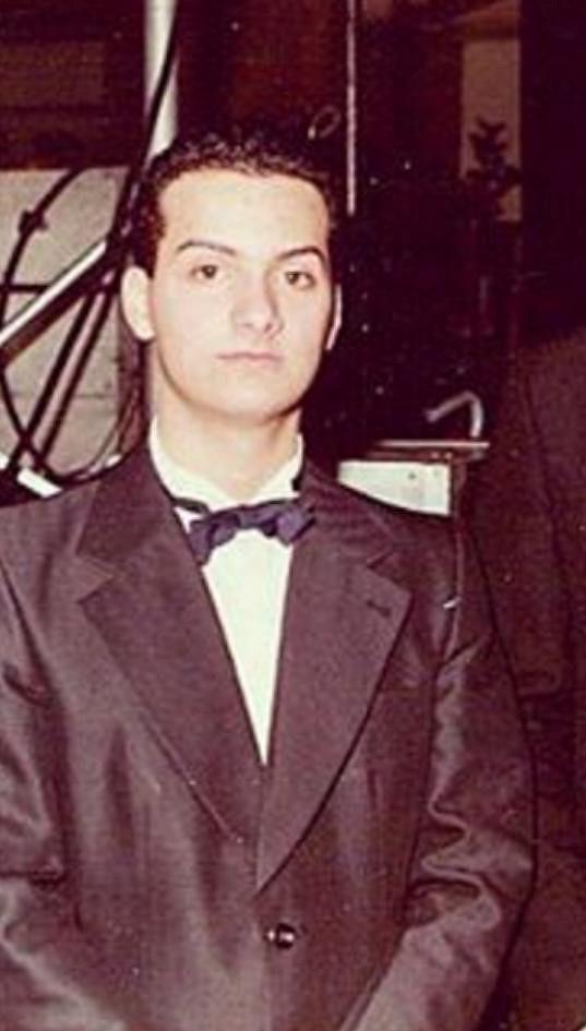 Patrik Hezucký na maturitním plese