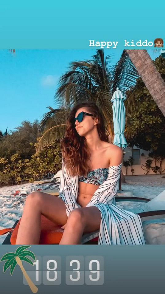 Nejvíce si kráska užívá relax na pláži.