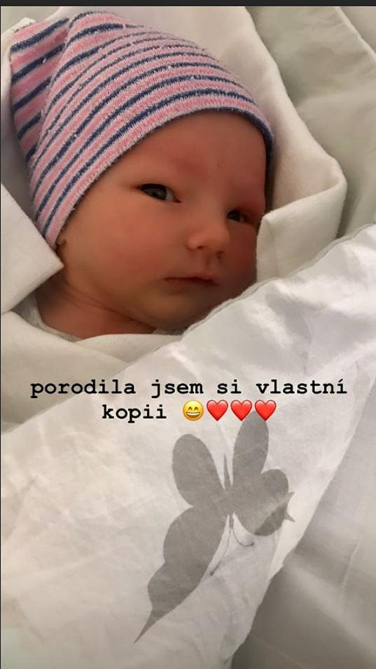 Patrik Hezucký má syna Olivera.