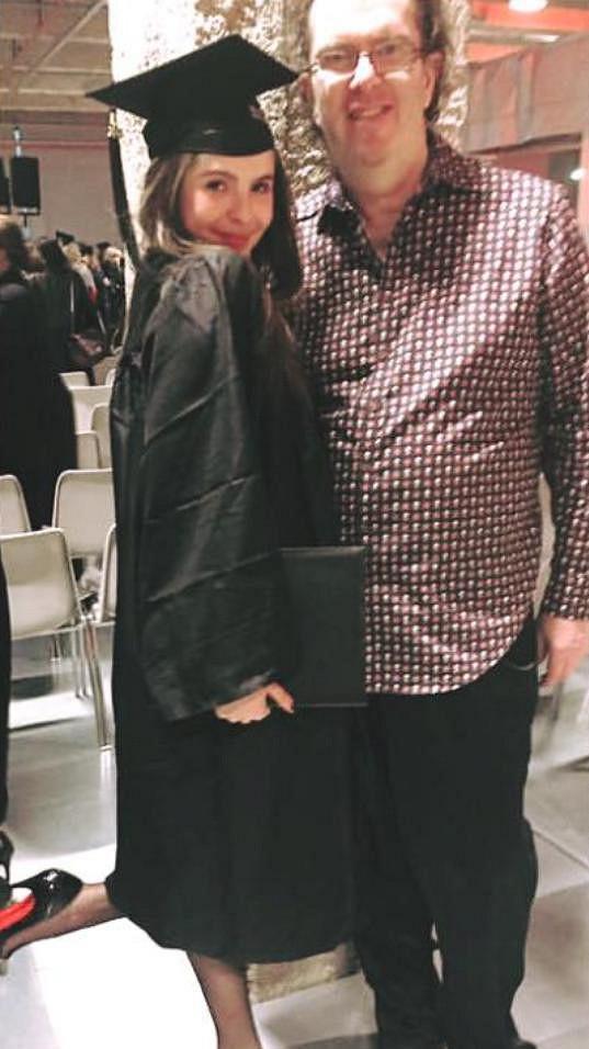 Richard Müller s dcerou Emou