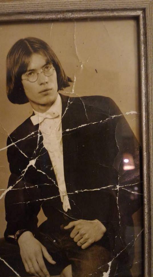 Bořek Slezáček na maturitním tablu