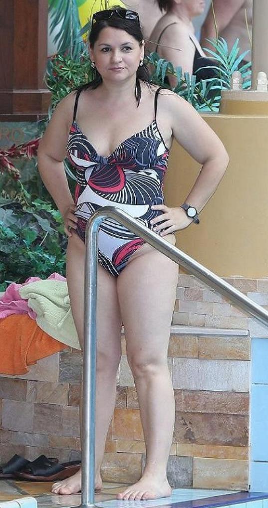 Magda Malá před zhubnutím