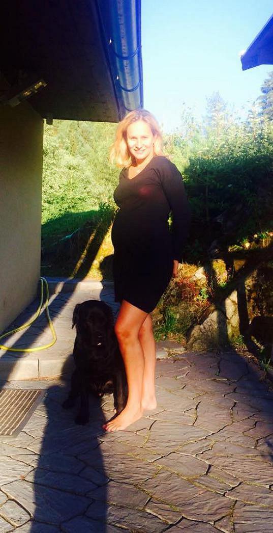 Monika Absolonová se těší na prvního potomka.