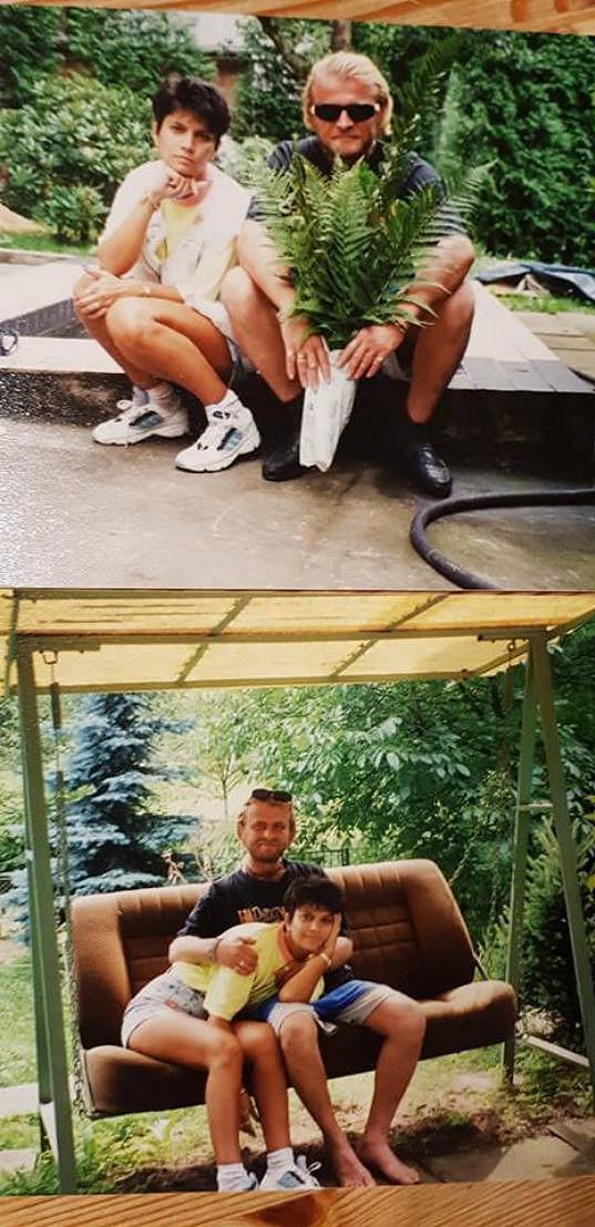 Dan se Zuzanou, se kterou žil mnoho let.