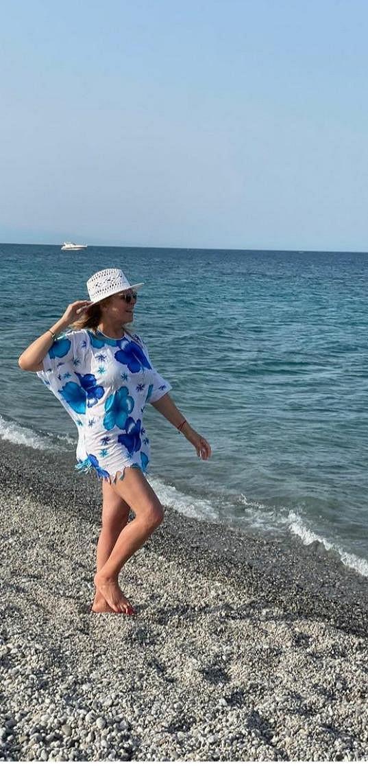 Za relaxem u moře odjela do Itálie.