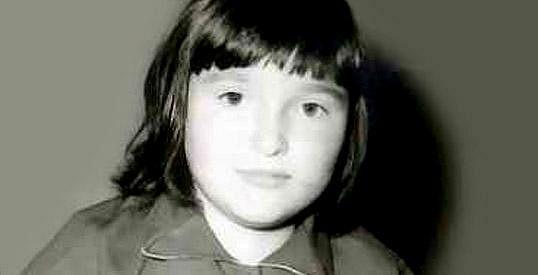 Valérie Zawadská jako osmiletá holčička.