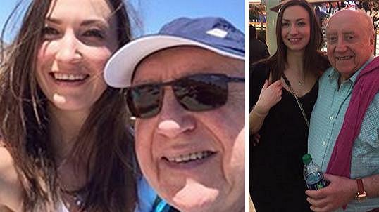 Lucie Gelemová si s Felixem Slováčkem užívá v Las Vegas.