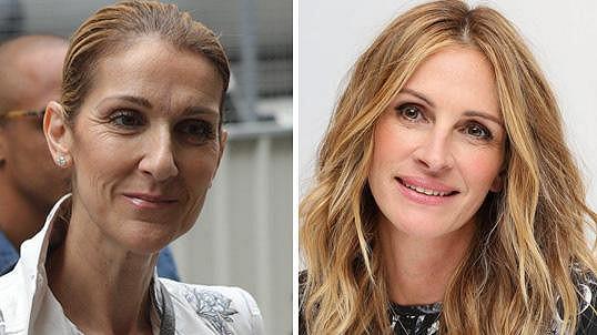 Céline Dion a Julia Roberts jsou padesátnice.