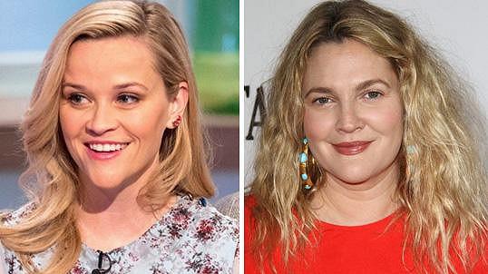 Reese Witherspoon je 42, stejně jako Drew Barrymore.