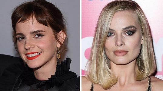 Emma Watson a Margot Robbie mají 27 let.