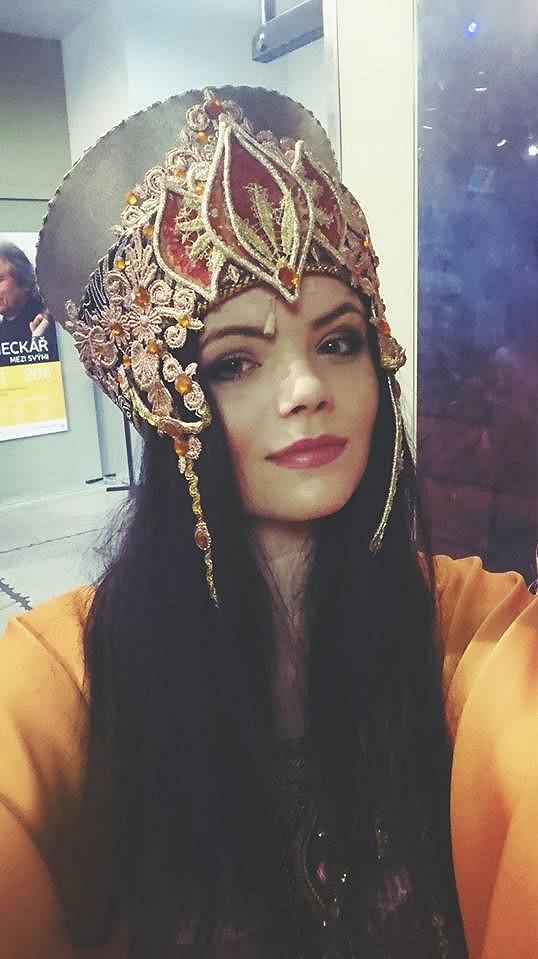 Veronika v muzikálu Sibyla
