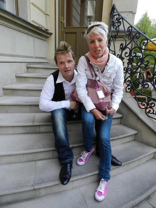 Martin France a Marcela Březinová.