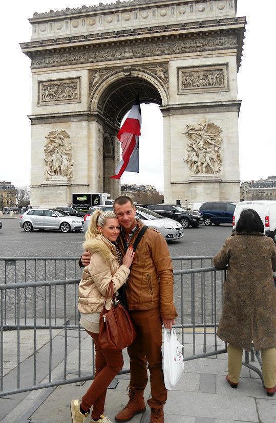 Filip a Petra na romantické dovolené v Paříži.